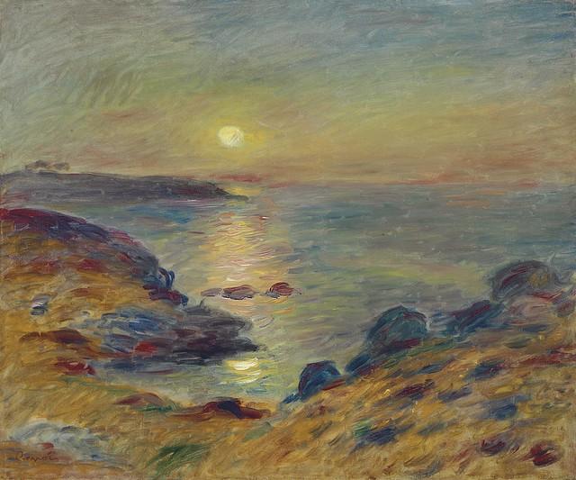 Pierre-Auguste_Renoir_-_Coucher_de_soleil_a?_Douarnenez_(c.1883)