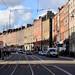 12. Clásica que ver en el centro de Dublín de fachadas rojas, ocres y marrones