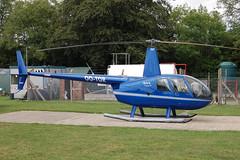 OO-TOR Robinson R44 (10639C) Popham 080810