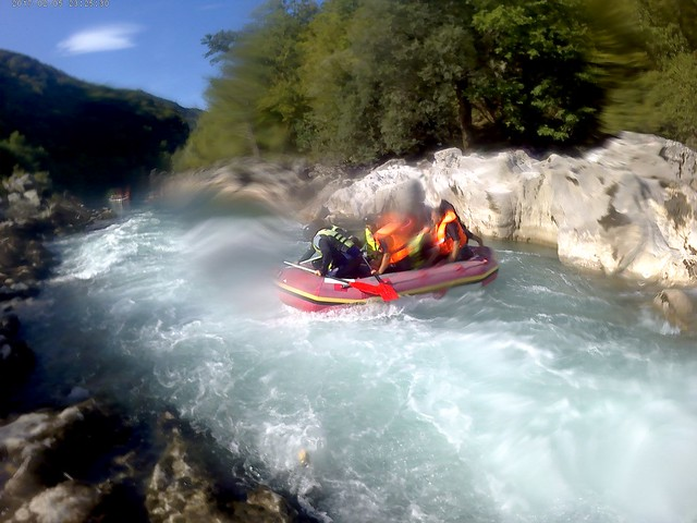 Best rafting on the Neretva  in Europe