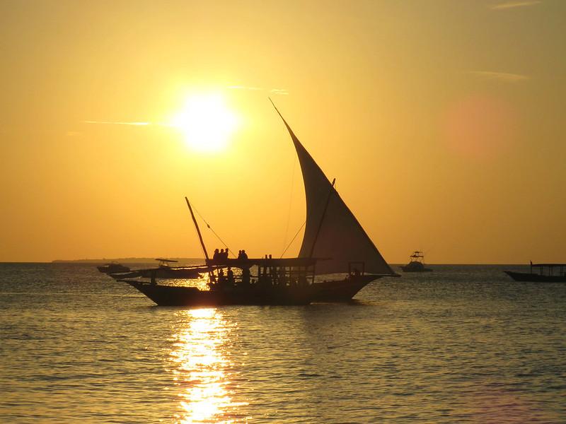 Zanzibar atardecer