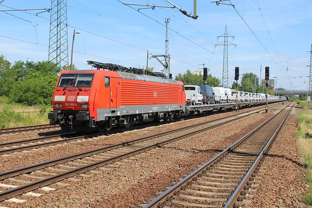 DB Cargo 189 006-0 te Berlin Schönefeld Flughafen 14 juni 2018