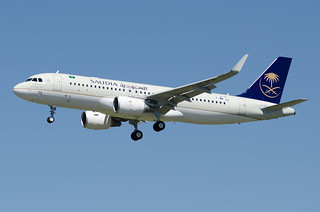 F-WWDS / HZ-AS73 - Airbus A320-214 (WL) - Saudi Arabian Airlines - msn 8177