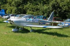 G-CERE Evektor EV-97 (2007-2931) Popham 080608
