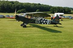 G-BKHG Piper L-4H (12062) Popham 080608