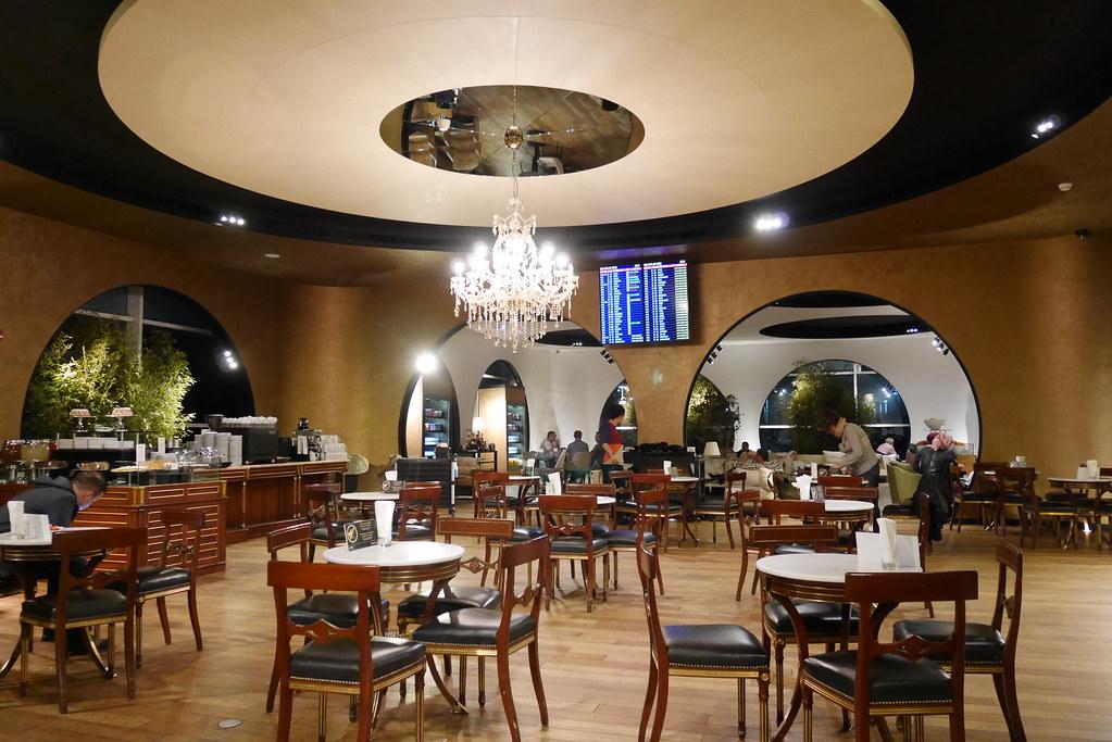 土航CIP Lounge休息區