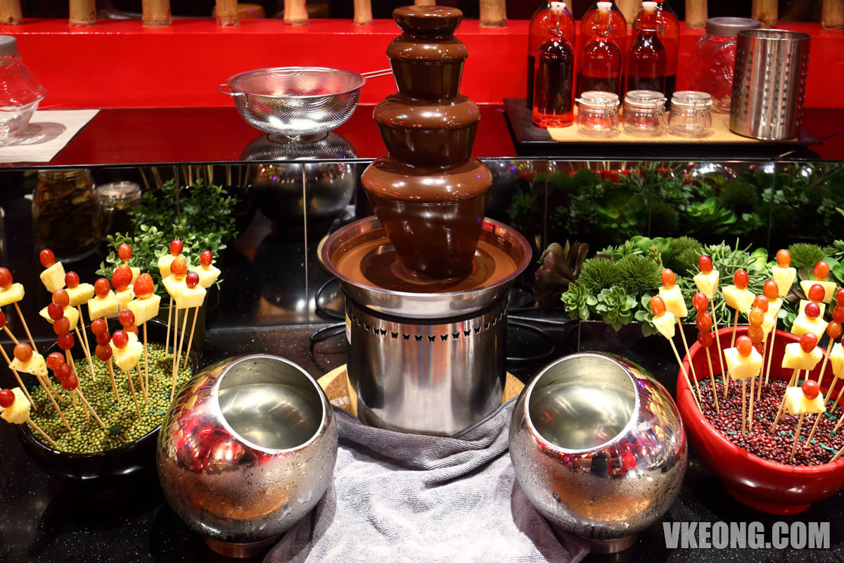 Kung Fu Panda Kitchen Chocolate Fountain
