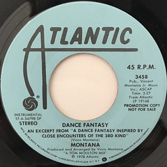 MONTANA:DANCE FANTASY(LABEL SIDE-A)