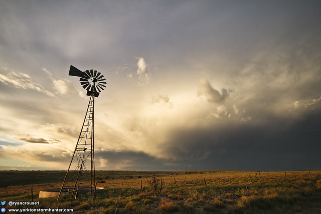 New Mexico Storm & Windmill