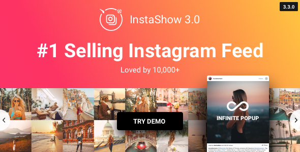 Instagram Feed v3.6.0 – WordPress Gallery for Instagram
