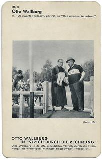 Otto Wallburg in Strich durch die Rechnung (1932)