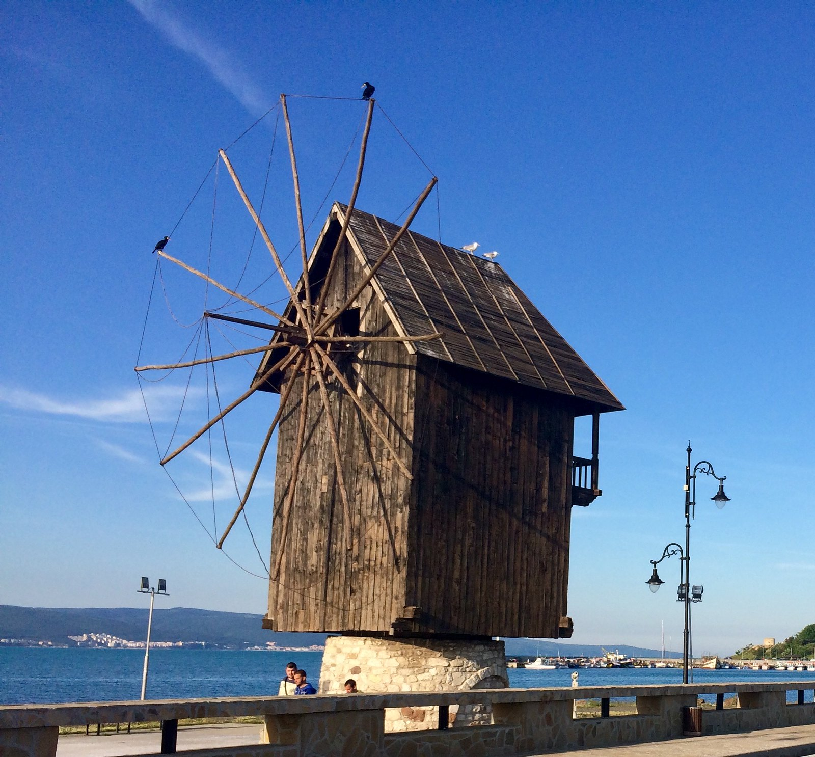 201705 - Balkans - Windmill - 18 of 40 - Ancient City of Nessebar - Burgas, May 24, 2017