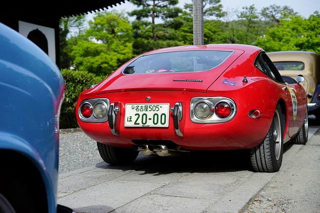 Toyota 2000GT, checkpoint line-up