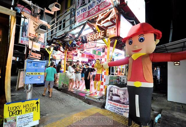 phuket krabi itinerary reggae bar koh phi phi