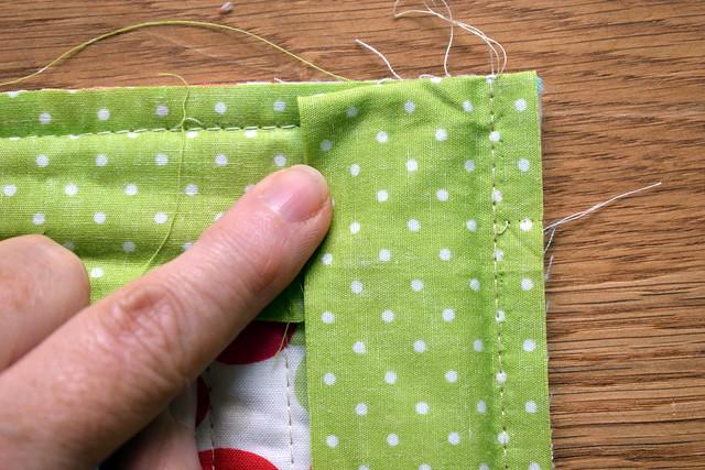 Single fold binding