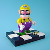 Wario figure from K'nex (Lego compatible)