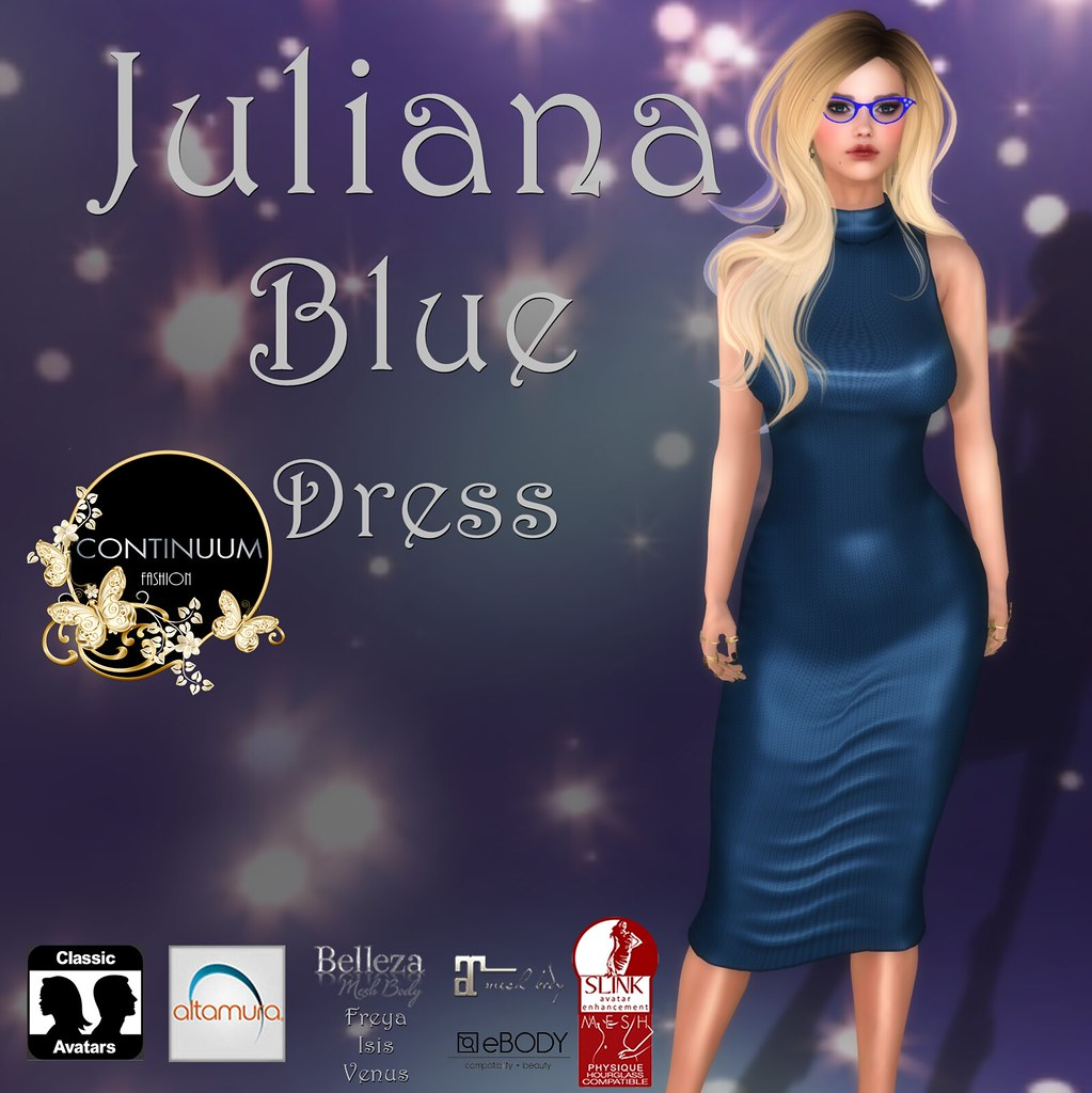 Continuum Juliana blue EXCLUSIVE GIFT @ The Free Dove - TeleportHub.com Live!