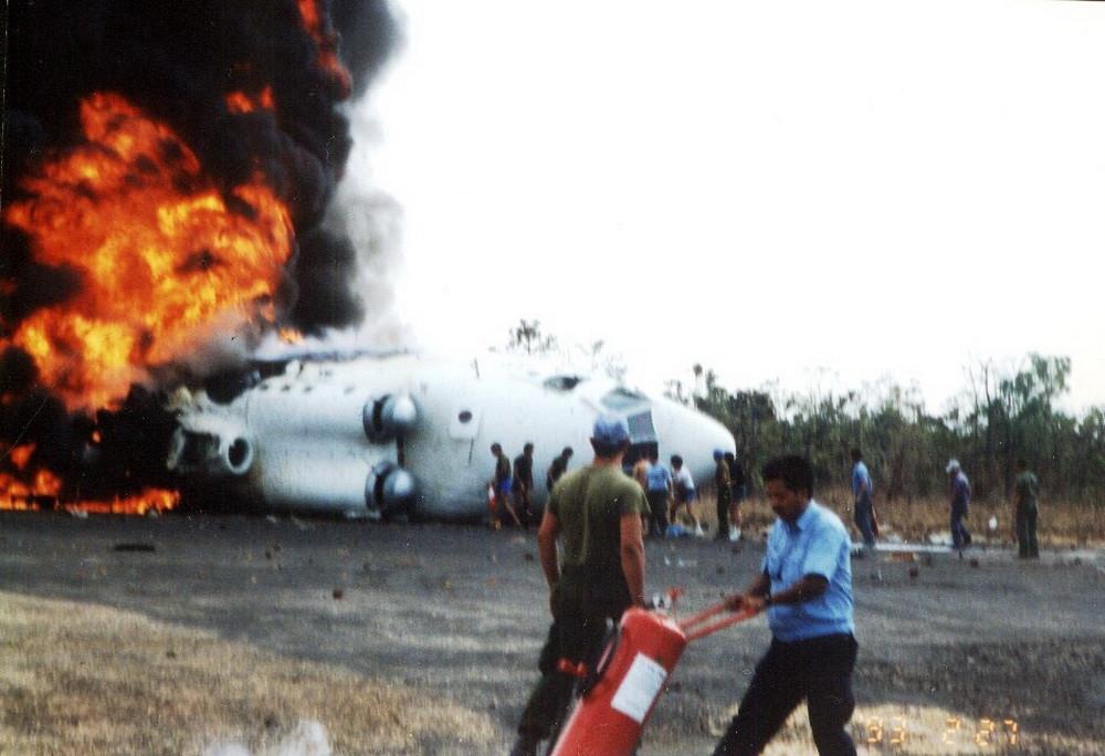 Авария вертолета Ми-26 (зав. №34001212464, RA-06193) авиационной группы миссии ООН в Камбодже