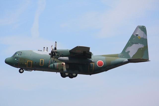 航空自衛隊 第1輸送航空隊 第401飛行隊 C-130H 75-1075 IMG_7783_2