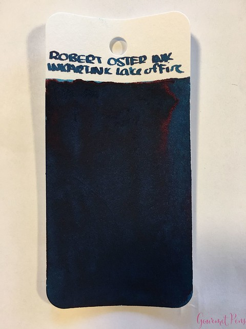 Robert Oster Lake of Fire Ink Review @RobertOsterSignature 12