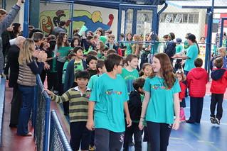 Festival das Cores: abertura MANHÃ - Ed. Infantil e Ens. Fundamental (jun/2018)