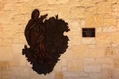 San Antonio - Downtown: San Fernando Cathedral Courtyard - Nuestra Señora de Las Flores