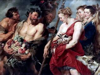 IMG_6397 Peter Paul Rubens. 1577-1640. Anvers. Diane revenant de la chasse. Diana returning from the hunt. 1616.  Dresde. Gemäldegalerie Alte Meister.