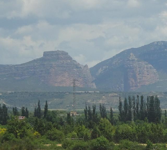 La ermita en lo alto del Salto de Roldán