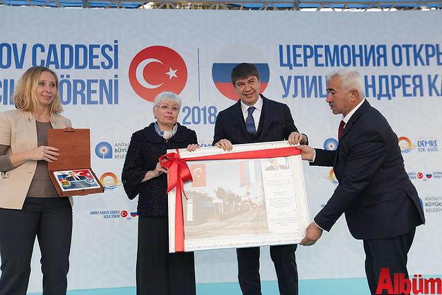Antalya Büyükşehir Belediyesi Karlov anıtı açılışı -3