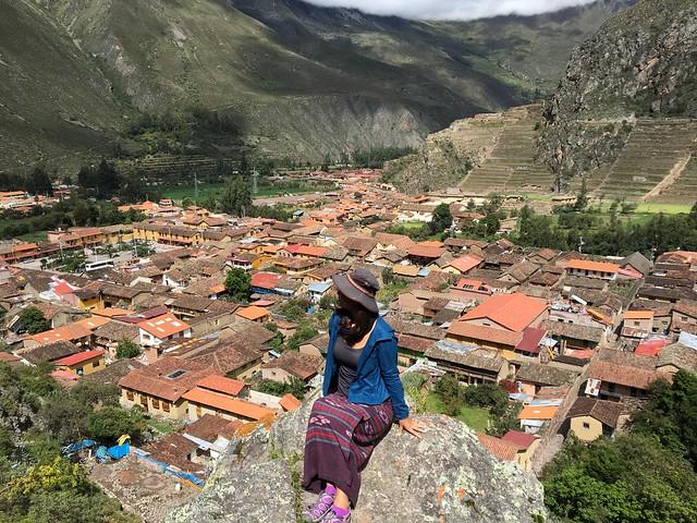 オリャンタイタンボの街全景