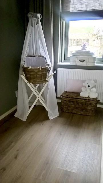 Babykamer landelijke stijl