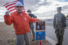 Seven Miles to Honor Fellow Soldiers