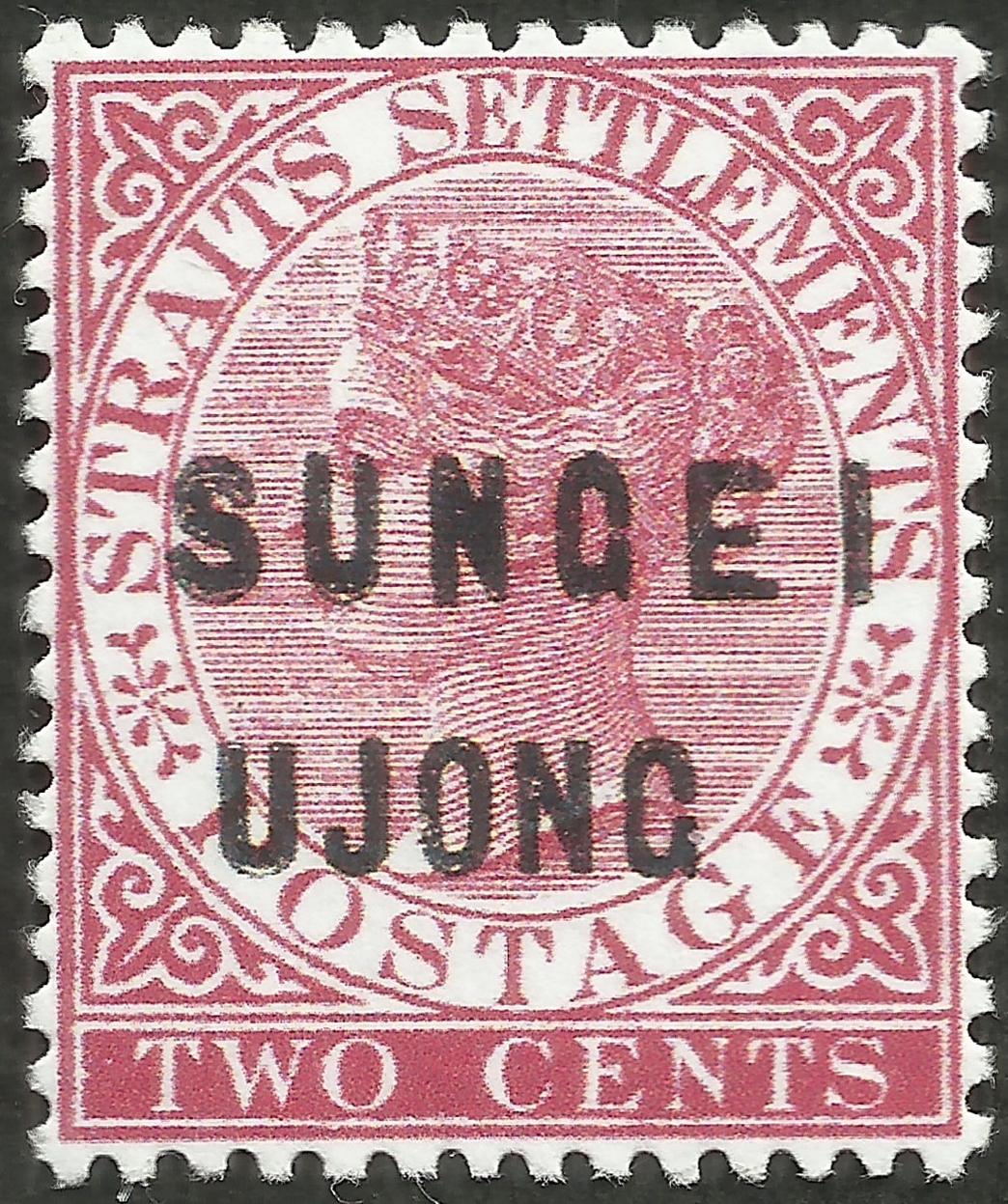 Sungei Ujong - Scott #15 (1881) - probable forgery