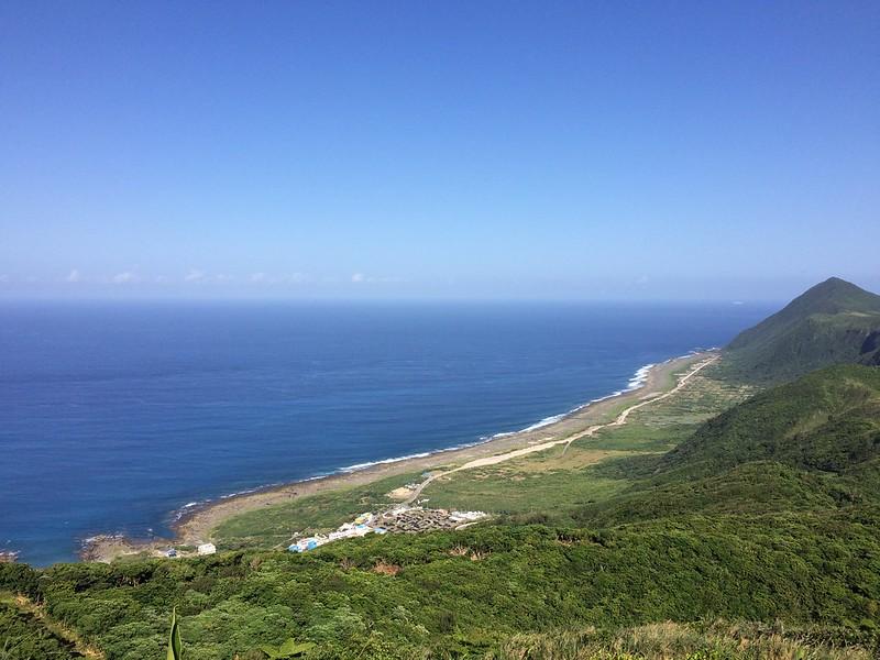 蘭嶼-氣象站遠望