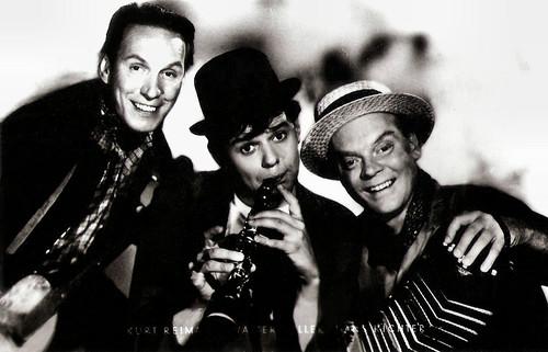 Kurt Reimann, Walter Giller and Hans Richter in Schwarzwaldmelodie (1956)