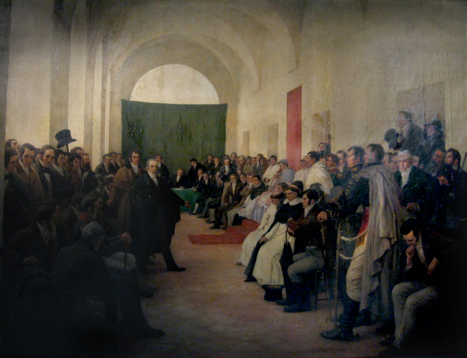 The Open cabildo of May 22 decided to replace the viceroy with a Junta.