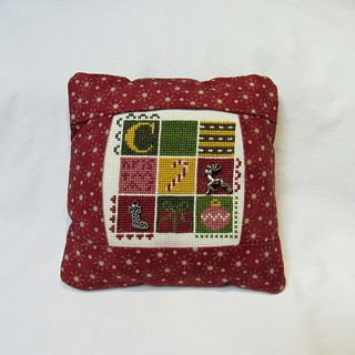 Christmas 9-Patch Pillow