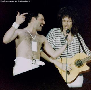 Queen live @ Leiden - 1986