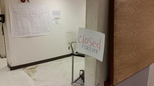 Scolari's: Closed Forever