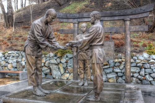 Judo monument, Vladivostok 15-04-2018 (2)