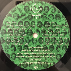 A TRIBE CALLED QUEST:MIDNIGHT MARAUDERS(LABEL SIDE-B)