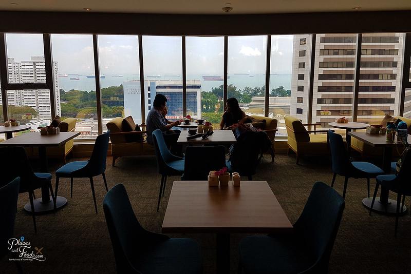 grand mercure executive suite view