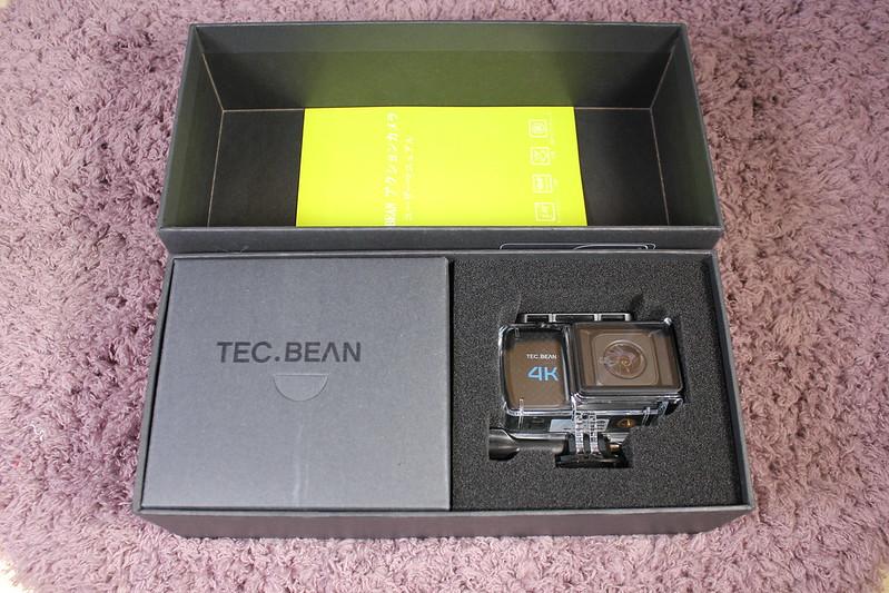 TEC.BEAN T3 アクションカメラ 開封レビュー (6)