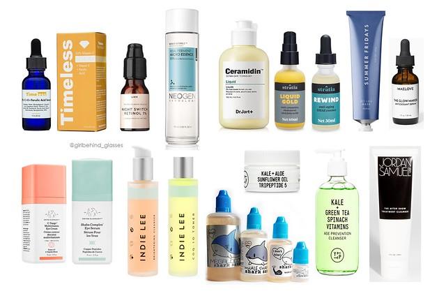 Skincare 2018 Wishlist