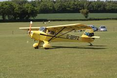 G-BPPZ Taylorcraft BC-12D (7988) Popham 210517