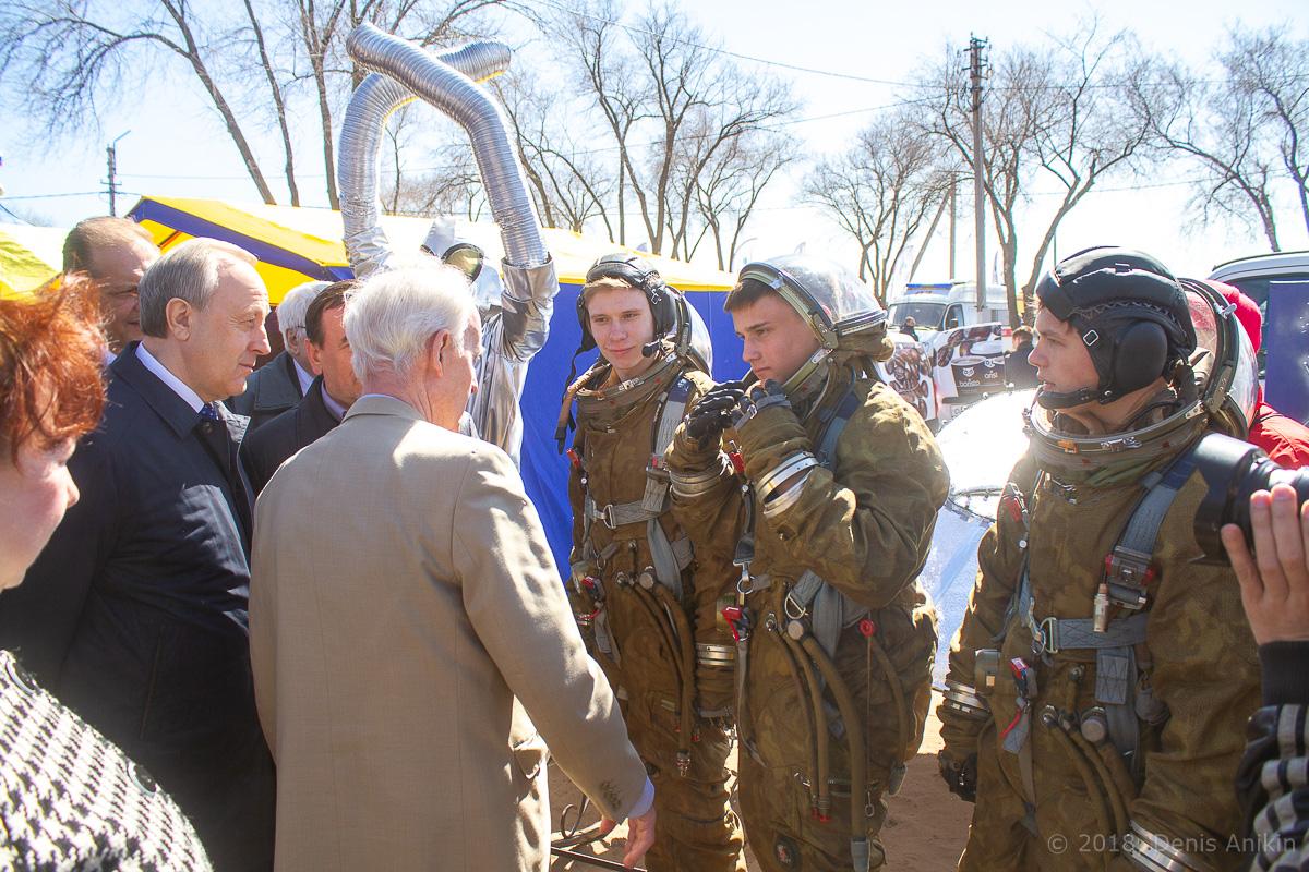 День космонавтики на месте приземления Гагарина фото 36
