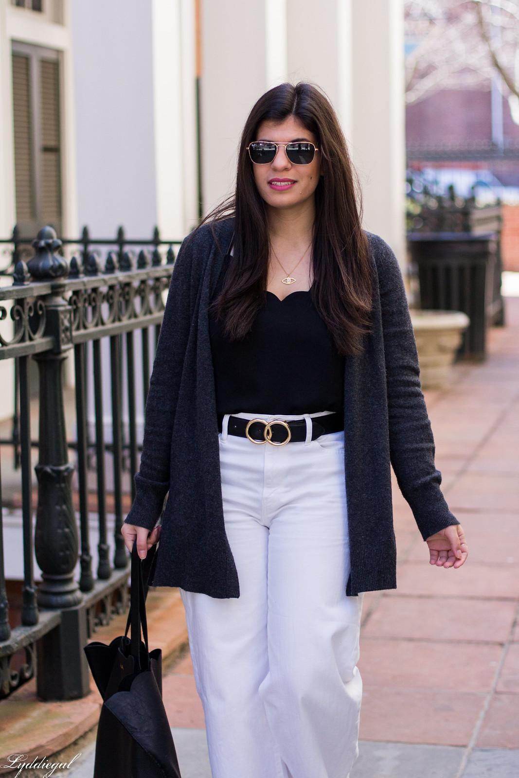 black scalloped tank, white wide leg jeans, grey cashmere cardigan-4.jpg