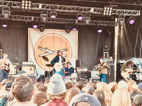 Twin Peaks @ Treefort Music Fest 2018, Main Stage, Boise, ID, 23 March 2018