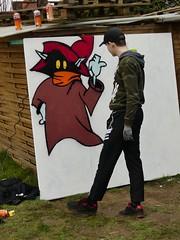 Graffiti im Tausendschön