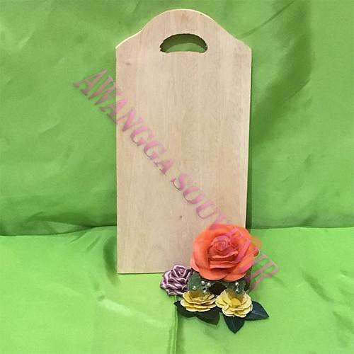 Talenan kayu Tas Lengkung uk.12.5x24.5